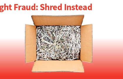 BECU Shred and e-Cycle Event