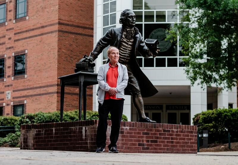State News VA: Protraits of Donald Harmon
