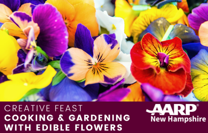 Cooking & Gardening with Edible Flowers