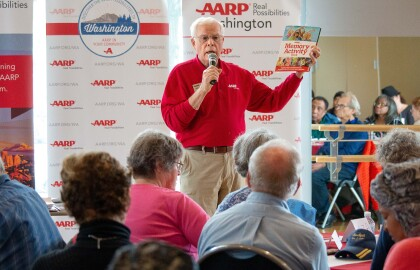 Meet Bob DeWald, recipient of AARP Washington's Andrus Award for Community Service