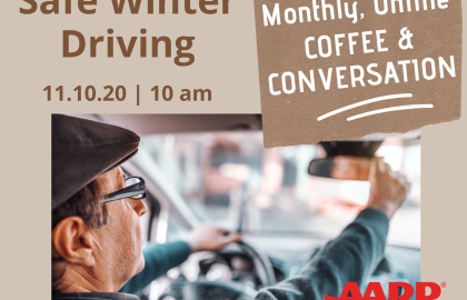 Coffee & Conversation: Safe Winter Driving