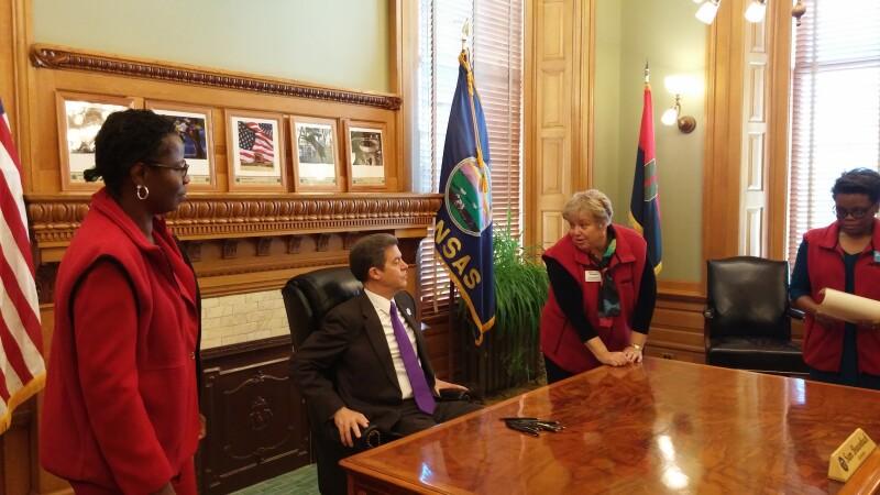 Governor and Judy