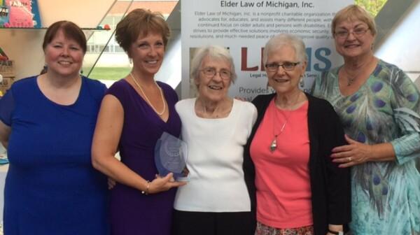 Karen Kafantaris Elder Law award