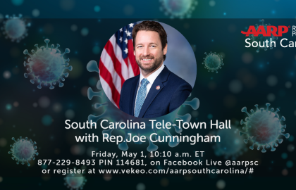 AARP South Carolina Low Country Tele-Town Hall