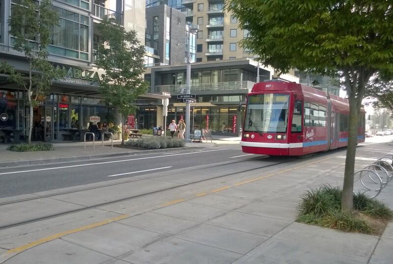 Near by streetcar