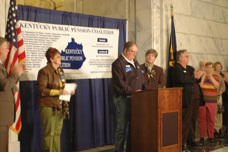 Public Pension Rally