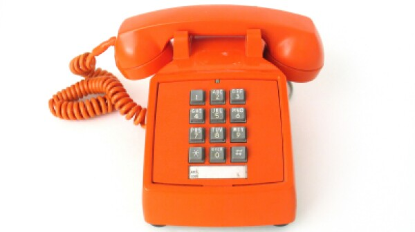 499,999 KK orange telephone
