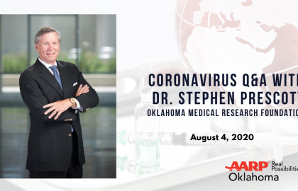 Coronavirus Q&A with Dr. Stephen Prescott: August 4 Update