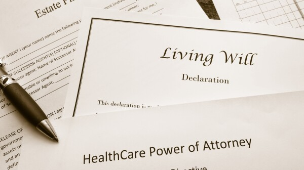 Legal and estate planning documents