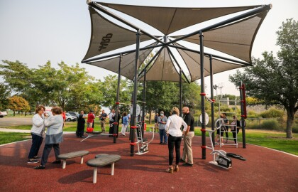 AARP FitLot Introduced at Maple Grove Park in Nampa