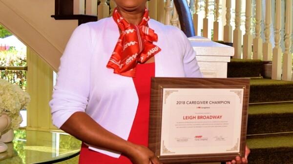 Leigh Broadway, Caregiving Champion