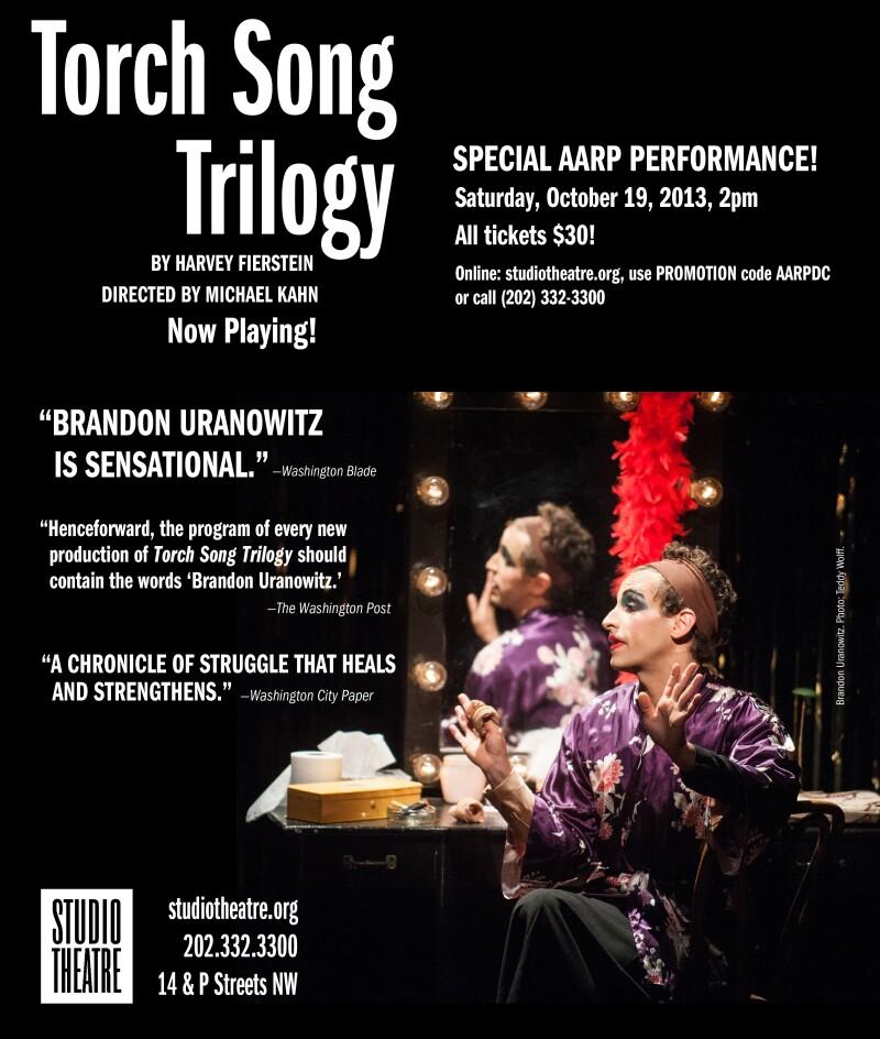 Torch Song AARP Flyer