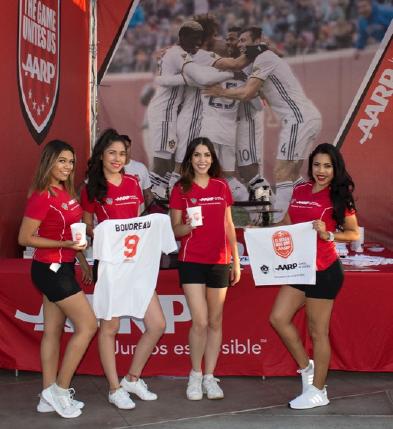 Brand Ambassador with T-Shirts
