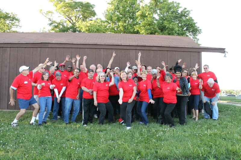 Team AARP Group photo