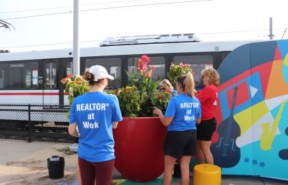 """The """"Transit Stop Transformation Project"""" at Emerson Park Transit Center Opens to The Public"""
