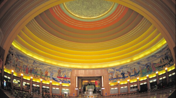Cincinnati Museum Center rotunda interior