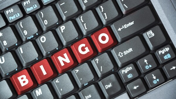 Bingo on keyboard
