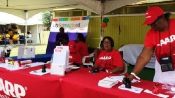 Volunteers at the Agricultural Fair in St. Croix, VI