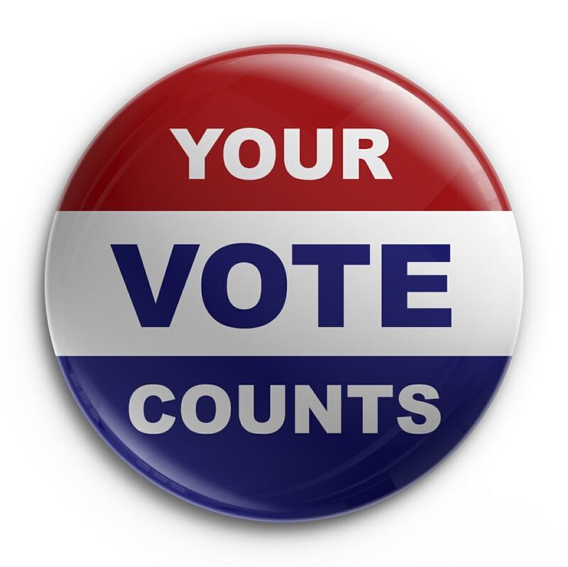 Vote Button - Istock Photos