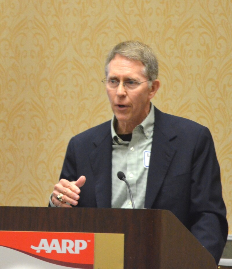 Leonard Strub, member of AARP Texas's all-volunteer Executive Council