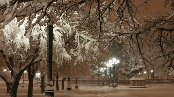 civic center snow