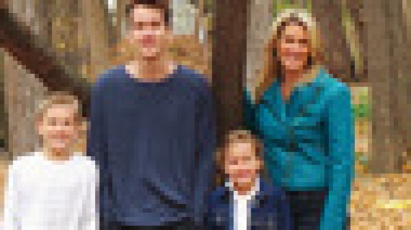 Jennifer Feuerstein and Family