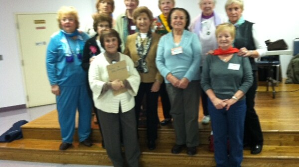 AARP Stamford Chapter volunteers