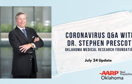 Coronavirus Q&A with Dr. Stephen Prescott: July 24 Update