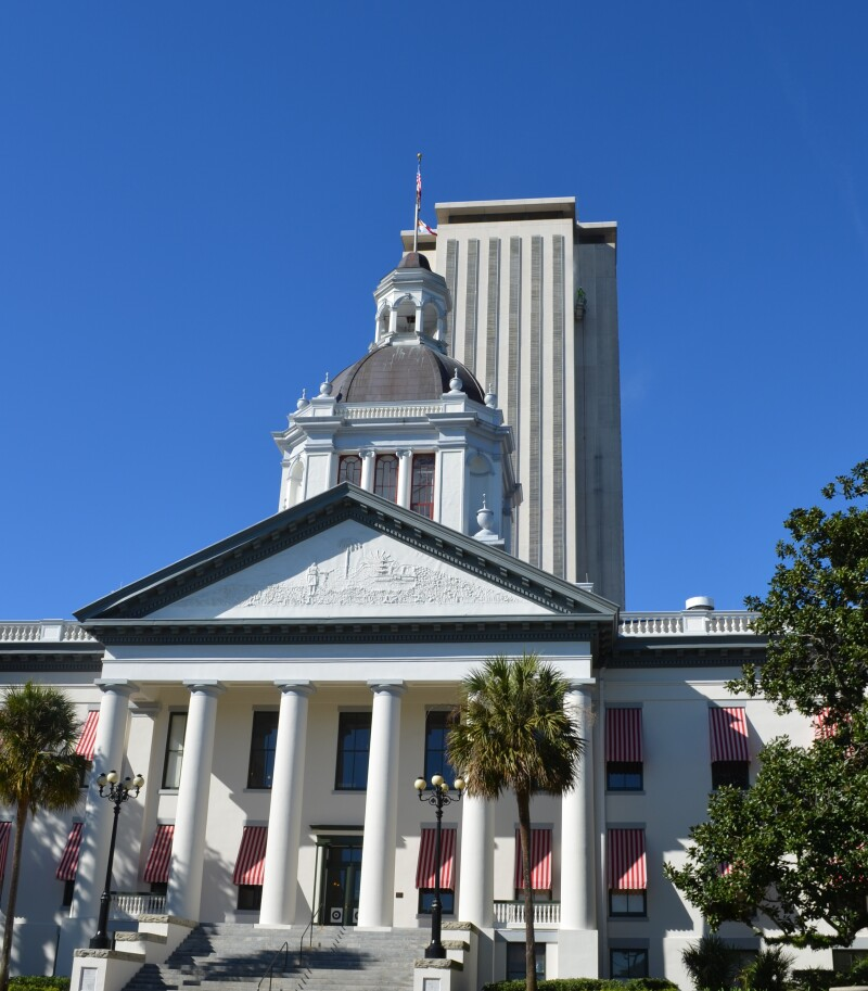 FL Historic and New Capitol 2017 Voting Record crop