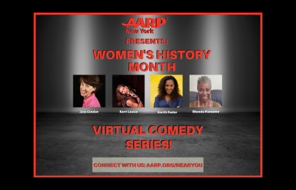 Virtual Comedy Series: In Honor of Women's History Month!