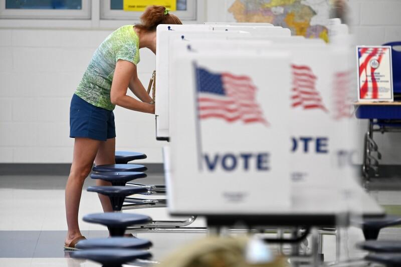 Virginia primary voting - Alexandria, VA