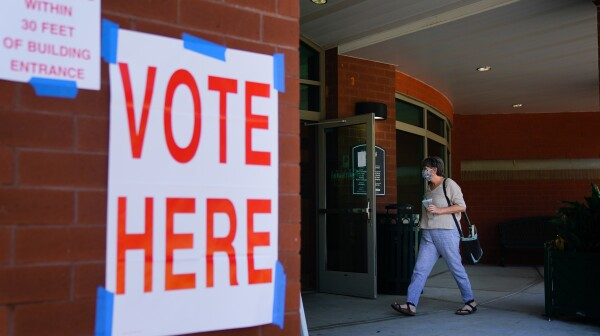 Voters Cast Ballots In Alabama Primary