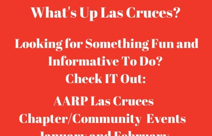 Las Cruces AARP Chapter Community Events