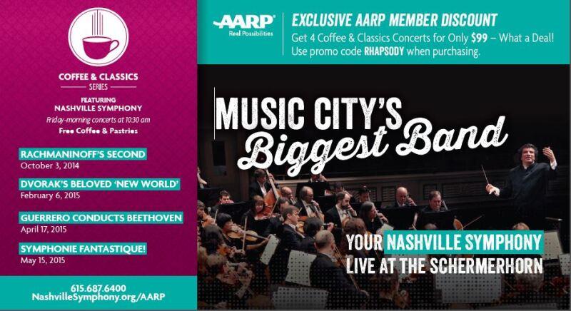 Nashville Symphony Postcard 2015