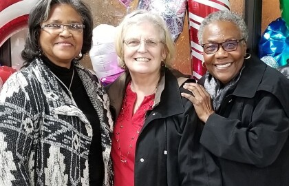 AARP Volunteers Turned Friends