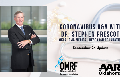 Coronavirus Q&A with Dr. Stephen Prescott: September 24 Update