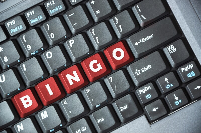 Bingo on keyboard