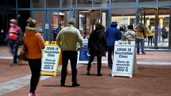 Fairfax, Virginia Health Care Workers Get Covid 19 Vaccine Shots