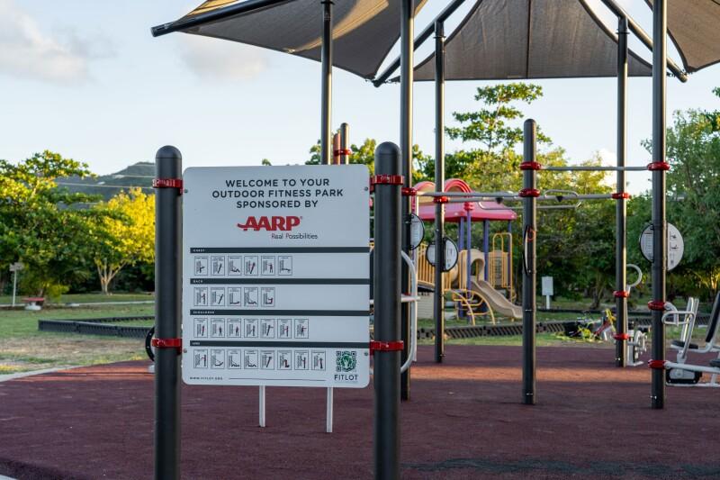 AARP Fitness Park, St. Croix, USVI