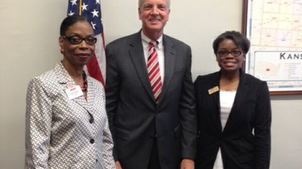 Glenda, Sen Moran and Maren 2013