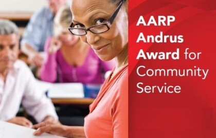 Nominate a Great Volunteer for the AARP Kansas Andrus Award for Community Service