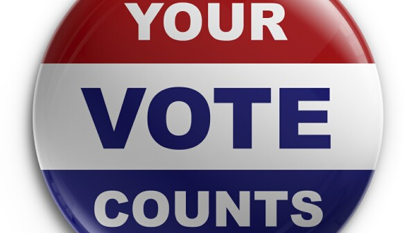 Vote Button - Istock Photos