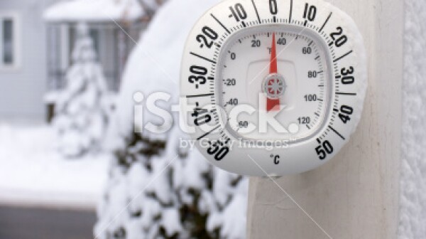 Winter Thermometer