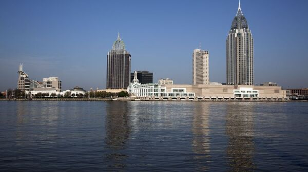 Mobile-Alabama-Skyline