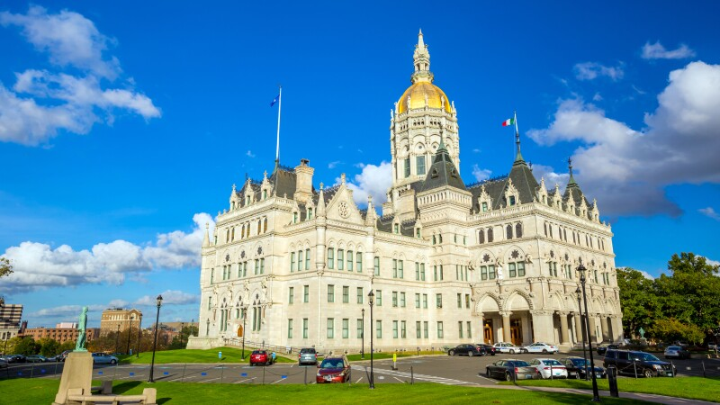 Connecticut State Capitol in Hartford, Connecticut
