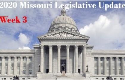 Legislative Session Update - Week 3