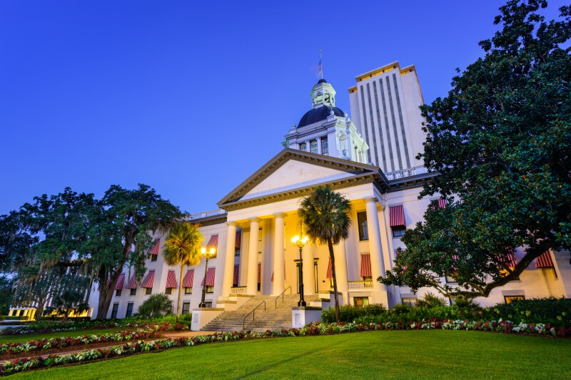 Florida State Capitol. Photo by Adobe Stock