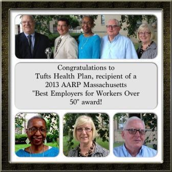 Tufts Best Employer 2013