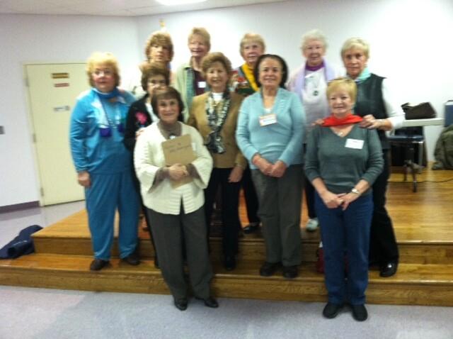 AARP Stamford Chapter volunteers