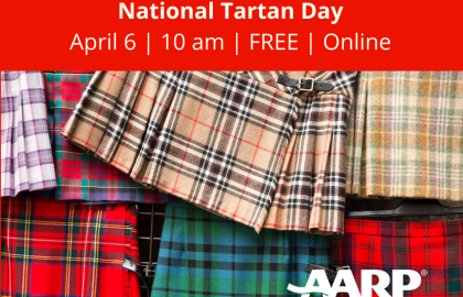 Coffee & Conversation: National Tartan Day